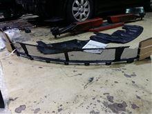 コルト三菱自動車(純正) コルトプラスラリーアート純正グリル ・ バンパーネットの全体画像