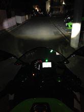 ZX-6RSphere Light バイク用LEDコンバージョンキット シングルH7の全体画像