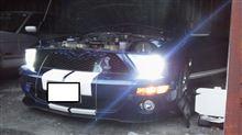SHELBY GT500メーカー・ブランド不明 55W HID キット H13HI/LO 6000Kの全体画像