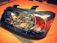 ハイランダーCRYSTAL EYE USトヨタ ハイランダーヘッドライト の単体画像