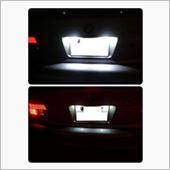 LUXI / オフィスアズ BMW LEDライセンスプレートライトユニット