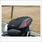 BAGSTER(バグスター) SPIDER(スパイダー) シートバッグ ブラック/レッド 15〜23リットル