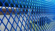 ZX-14R自作 カウルメッシュ・メタリックブルーの単体画像
