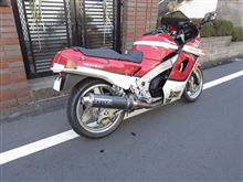 ZX-10OVER RACING CB750F フルエキゾーストの全体画像