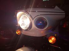 KZ1000PRAYBRIG / スタンレー電気 マルチリフレクターヘッドランプ クリアタイプ / FH03の全体画像