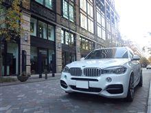 X5BMW(純正) BMW performance エアインテークの全体画像