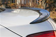 M6 グランクーペBMW M PERFORMANCE カーボン リヤ トランク スポイラーの単体画像