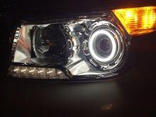 ランドクルーザーAccurateオリジナル ヘッドライトLEDリングの単体画像