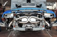 R8スパイダーIROM EXHAUST Stainless Steel Sport Exhaust Systemの単体画像