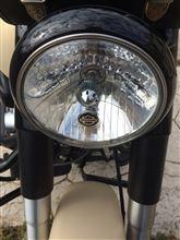 ソフテイル ファットボーイ ローハーレーダビッドソン(純正) ヘッドライト トリムカバー ブラックの単体画像