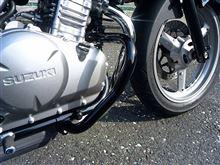 GSR250SKIJIMA エンジンガード スチール製の単体画像