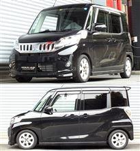 eKスペースカスタムRS★R B11A 4WD 『 Best☆i C&K 』の全体画像