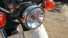 スーパーカブ90SP武川 マルチリフレクタ-ヘッドライト(タイプ C)の単体画像