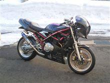 バンディット400WR's スーパーバイク フルエキゾーストの単体画像