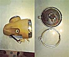 ハローダイハツ ハローのヘッドライトの単体画像