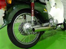 スーパーカブ110-JA07キタコ ステンレススポーティーダウンマフラーの単体画像