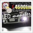 ピカキュウ LED MONSTER L4600 LEDフォグランプキット カラー:ホワイト6600K バルブ規格:H8/H11/H16兼用