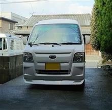 サンバーKusutom Car Design Studio MAD R / スタジオMAD-R  フロントリップスポイラーの単体画像