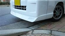 サンバーKusutom Car Design Studio MAD R / スタジオMAD-R  フロントリップスポイラーの全体画像