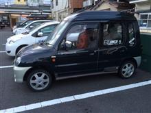 ミニカトッポ三菱自動車(純正) ekスポーツ純正ホィールの全体画像