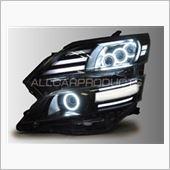 オールカープロダクツ プレミアムカスタマイズドヘッドライトシリーズ「極/Kiwami」20系ヴェルファイア専用SMDイカリングヘッドライト
