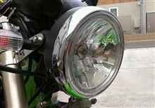 KSR-IIヤフオク! おそらく、CHERRY マルチリフレクター ヘッドライトの全体画像