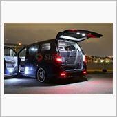 Share Style 20系アルファード タイプゴールドⅡトランク 増設LEDラゲッジランプ