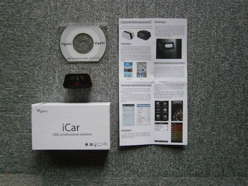 Vgate Scan iCar 2 bluetooth