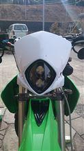 KDX125SRあちらの国 ア●ャル○ビス風ライトの単体画像