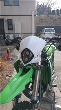 KDX125SRあちらの国 ア●ャル○ビス風ライトの全体画像