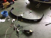 ファミリア百式自動車 ABS製リップスポイラーの単体画像