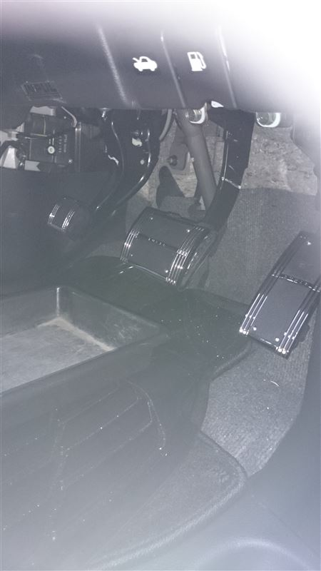 CAR MATE / カーメイト LUXIS LUXIS ペダルセット TYPE AT-M / LS202