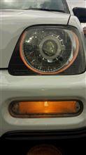 ZNANIYA CCFLイカリング HIDプロジェクターヘッドライトの全体画像