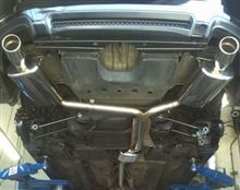 TLCompteh Cat Back Exhaust Systemの単体画像