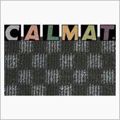 (ブ)CALMAT フロアマット チェックブラック