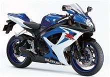 GSX-R750スズキ(純正) GSX-R600用 純正ホイール(青)の単体画像