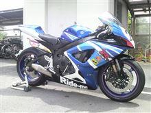 GSX-R750スズキ(純正) GSX-R600用 純正ホイール(青)の全体画像