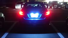 車種別専用LEDナンバー灯ユニット 10000K