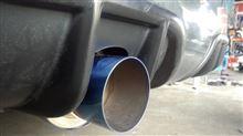 308CC (カブリオレ)ワンオフ ステンサイレンサーの単体画像