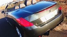 308CC (カブリオレ)ワンオフ ステンサイレンサーの全体画像