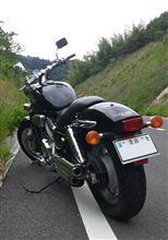 マグナ 750ホンダ(純正) シャドウACE用リアサスの単体画像