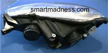 フォーツー カブリオMADNESS AUTOWORKS SMART CAR HID CONVERSION KIT - HIGH AND LOW BEAM SET 6000Kの全体画像