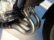 R1-ZOXレーシング ストレートチャンバーの全体画像
