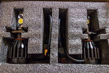 リード125GTX LED ブラックナイト H4 36W 3600LMの全体画像