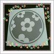 VAUNT VINYL sticker store 花柄 給油口 カッティング ステッカー 丸型
