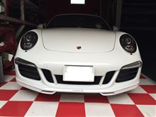 911 カブリオレポルシェ純正 カップエアロスポイラーの全体画像