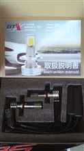 RS125GTX LEDヘッドライト 4500ルーメン 45Wの単体画像