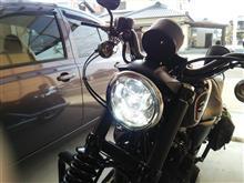 スポーツスター883Rハーレーダビッドソン(純正) LEDヘッドライトの全体画像