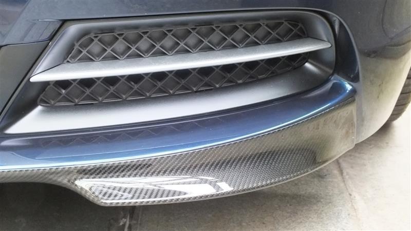 BMW(純正) カーボンフロントスプリッター