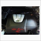TEZZO カーボンエンジンカバー for アルファロメオ4C